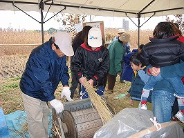 収穫祭と体験学習(12月)